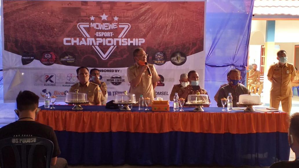 Bupati Koltim Apresiasi Mowewe Esport Championship