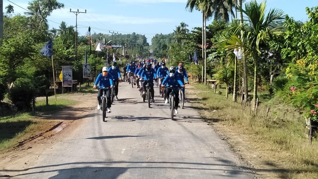 Bupati Gelar Fun Bike Bersama Masyarakat