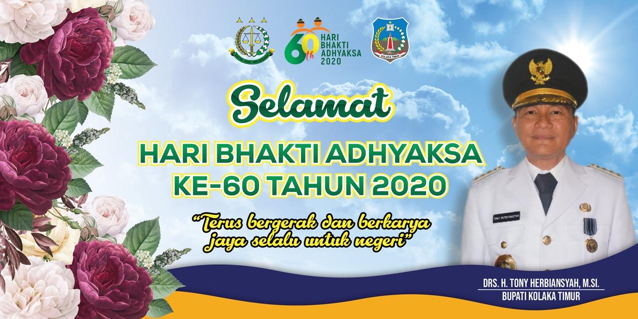 Selamat Hari Bhakti Adhyaksa Ke-60 Tahun 2020