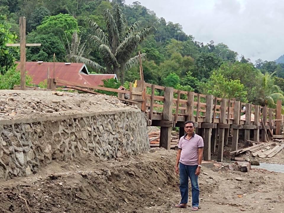 Tak Sampai Setahun, Bupati Tuntaskan Pembangunan Jembatan Wesinggote