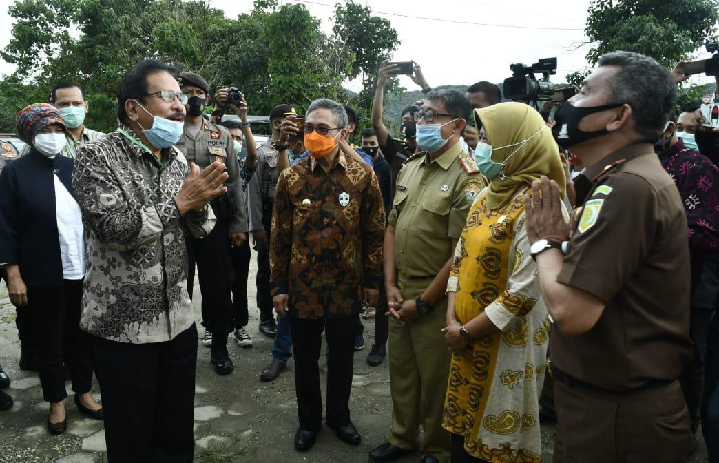 Menteri ATR: Saya Sudah Keliling, Baru Koltim Miliki Gedung Megah