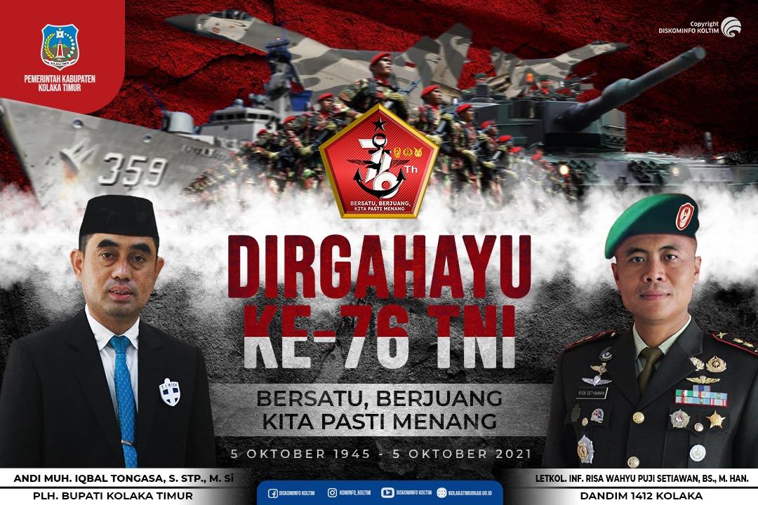 SELAMAT HUT TNI KE-76